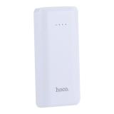 Аккумулятор внешний универсальный Hoco B35A-5200 mAh Entourage mobile Power bank (USB: 5V-1.0A) White Белый