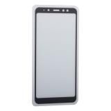 Стекло защитное 2D для Samsung GALAXY A8 Plus SM-A730F (2018 г.) Black