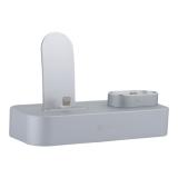 Док-станция COTEetCI Base22 Dock 2in1 stand для iPhone X/ 8 Plus/ 8 & AirPods CS7205-TS Серебристый