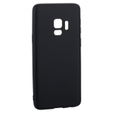 Чехол-накладка TPU Soft touch металлик Deppa Case Silk D-89000 для Samsung GALAXY S9 SM-G960F 1мм Черный металик