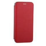 Чехол-книжка кожаный Fashion Case Slim-Fit для Samsung A6 Plus (2018) Red Красный