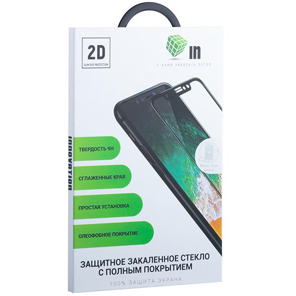 Стекло защитное Innovation 2D для Xiaomi Mi Play (5,84) полностью клей Черное