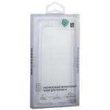 Чехол силиконовый Innovation для iPhone 8 тонкий 0.6 мм прозрачный