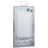 Чехол силиконовый Innovation для iPhone X тонкий 0.6 мм прозрачный