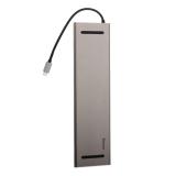 Переходник Baseus Enjoyment Series HUB Adapter 8в1 (CATSX-F0G) Type-C для MacBook Графитовый