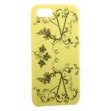 Чехол-накладка силиконовый Silicone Cover для iPhone 8 Узор Желтый