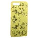 Чехол-накладка силиконовый Silicone Cover для iPhone 8 Plus Узор Желтый