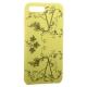 Чехол-накладка силиконовый Silicone Cover для iPhone 7 Plus (5.5) Узор Желтый