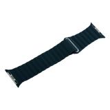 Ремешок кожаный COTEetCI W7 Leather Magnet Band (WH5205-GR) для Apple Watch 40мм Зеленый