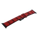 Ремешок кожаный COTEetCI W37 Fashion Leather (WH5262-RD) для Apple Watch 38мм Красный