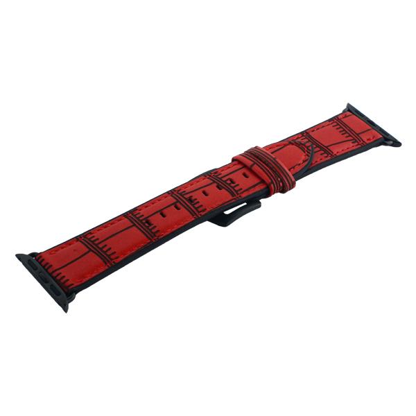 Ремешок кожаный COTEetCI W37 Fashion Leather (WH5262-RD) для Apple Watch 38 мм Красный
