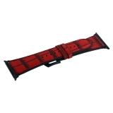 Ремешок кожаный COTEetCI W37 Fashion Leather (WH5263-RD) для Apple Watch 44мм Красный