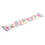 Ремешок силиконовый COTEetCI W38 Flowers (WH5266-RD) для Apple Watch 42 мм White carnations Белая гвоздика