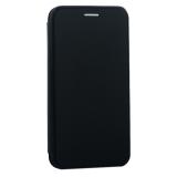 Чехол-книжка кожаный Innovation Case для iPhone XS Черный