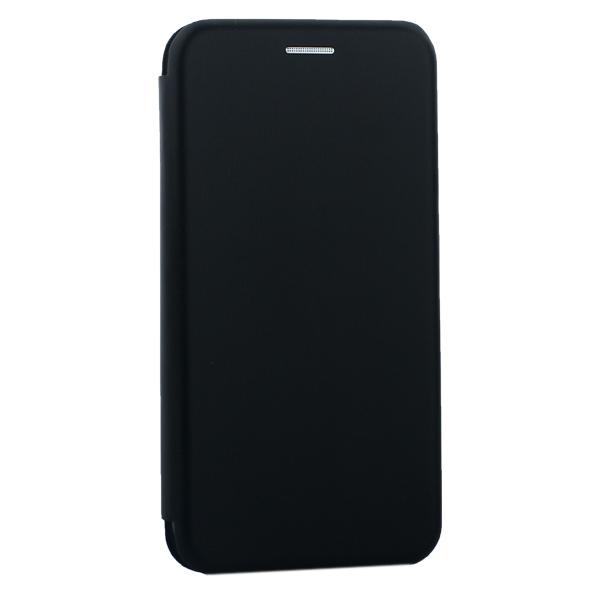 Чехол-книжка кожаный Innovation Case для iPhone X (5.8) Черный