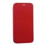 Чехол-книжка кожаный Innovation Case для iPhone X (5.8) Красный
