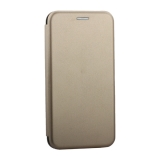 Чехол-книжка кожаный Innovation Case для iPhone X (5.8) Золотой