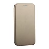 Чехол-книжка кожаный Innovation Case для iPhone X Золотой