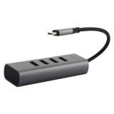 Переходник Baseus Enjoy series Type-C to HUB 5в1 (CAHUB-Q0G) Type-C to USB3.0x4/ Type-C Графитовый