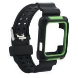 Ремешок COTEetCI W39 Integrated Movement Band (WH5267-BG) для Apple Watch 38мм Черно-Зеленый