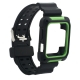 Ремешок COTEetCI W39 Integrated Movement Band (WH5267-BG) для Apple Watch  38 мм Черно-Зеленый