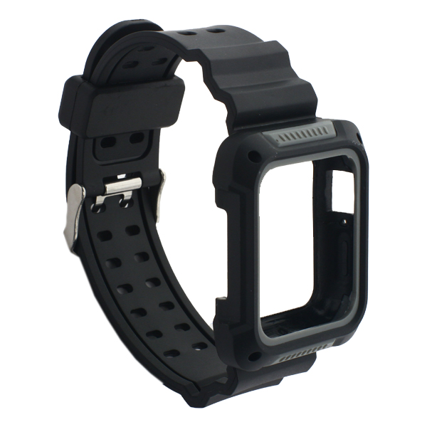 Ремешок COTEetCI W39 Integrated Movement Band (WH5267-BY) для Apple Watch 38 мм Черно-Графитовый