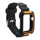 Ремешок COTEetCI W39 Integrated Movement Band (WH5268-BO) для Apple Watch 44 мм Черно-Оранжевый