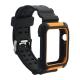 Ремешок COTEetCI W39 Integrated Movement Band (WH5268-BO) для Apple Watch 42 мм Черно-Оранжевый