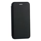 Чехол-книжка кожаный Innovation Case для Samsung Galaxy S10 Черный