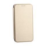 Чехол-книжка кожаный Innovation Case для Samsung Galaxy S10 Lite Золотой