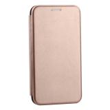 Чехол-книжка кожаный Innovation Case для Samsung Galaxy S10 Lite Розовое золото