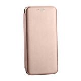 Чехол-книжка кожаный Innovation Case для Samsung Galaxy S10 Plus Розовое золото