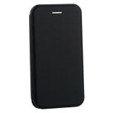 Чехол-книжка кожаный Innovation Case для iPhone 8 Черный