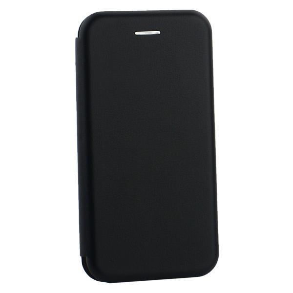 Чехол-книжка кожаный Innovation Case для iPhone 7 (4.7) Черный