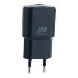 Адаптер питания BoraSCO charger ID-20642 (USB: 5V/1A) Черный