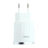 Адаптер питания Hoco C37A Thunder power single port charger (USB: 5V max 2.4A) Белый