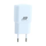 Адаптер питания BoraSCO charger ID-20641 (USB: 5V/1A) Белый