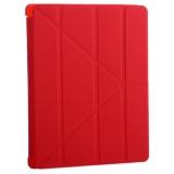 Чехол-подставка BoraSCO ID 22538 для iPad 4/ 3/ 2Красный
