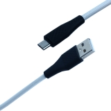 USB дата-кабель Hoco X32 Excellent charging data cable for MicroUSB (1.0 м) Белый