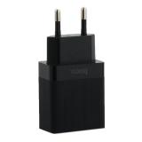 Адаптер питания Hoco C51A Prestige power dual port charger (2USB: 5V max 3.4A) Черный
