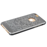 Накладка металлическая iBacks Cameo Series Aluminium Case for iPhone 6s/ 6 (4.7) - Venezia (ip60025) Space Gray Темно-серый