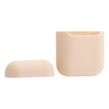 Чехол силиконовый для AirPods Case Protection ультратонкий «Розовый песок»