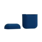 Чехол силиконовый для AirPods Case Protection ультратонкий Тёмно-синий