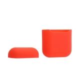 Чехол силиконовый для AirPods Case Protection ультратонкий «Спелый нектарин»