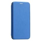 Чехол-книжка кожаный Innovation Case для iPhone XS (5.8) Синий