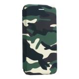 Чехол-книжка кожаный Innovation Case для iPhone XS Max (6.5) Камуфляж