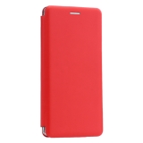Чехол-книжка кожаный Innovation Case для Samsung Galaxy Note 9 Красный
