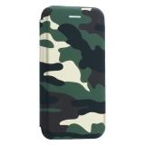 Чехол-книжка кожаный Innovation Case для iPhone 6S/ 6 (4.7) Камуфляж