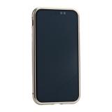 Чехол закаленное стекло с магнитной рамкой Baseus Magnetite Hardware (WIAPIPH61-CS0V) для iPhone XR (6.1) Розовое золото