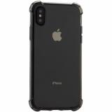 Чехол силиконовый Innovation для iPhone XS (5.8) противоударный дымчатый